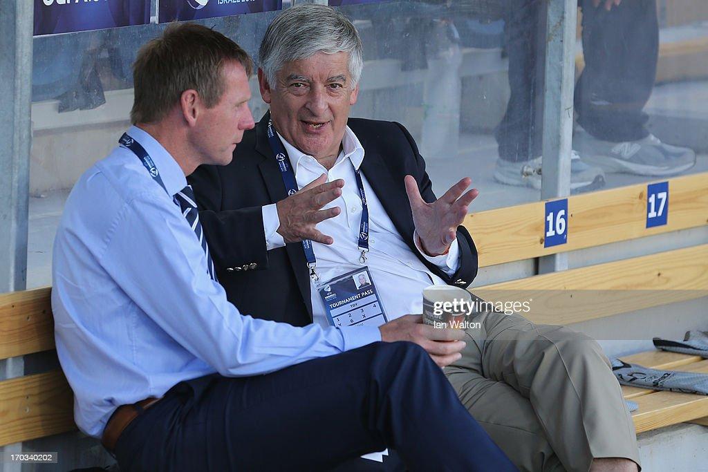 Israel v England - UEFA European U21 Championships: Group A : News Photo