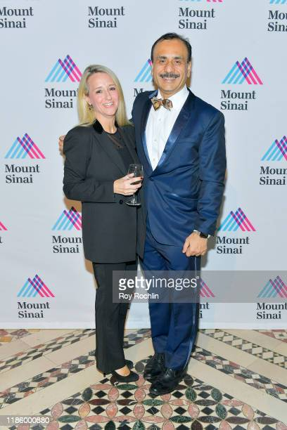 Chairman Dept of Urology Ashutosh K Tewari and guest attend 2019 Mount Sinai Prostate Cancer Research Gala at Cipriani 42nd Street on November 06...