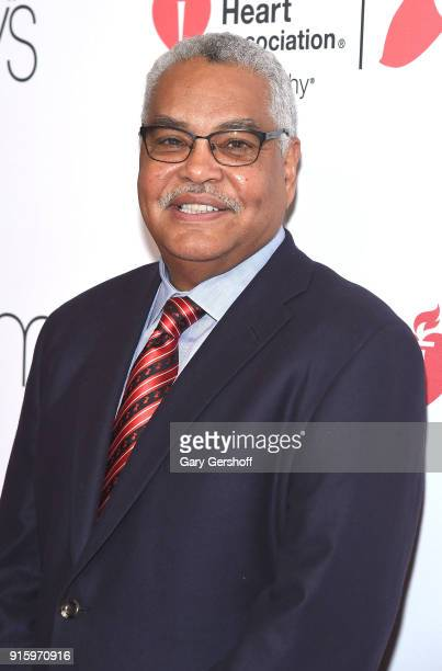 Chairman Elect American Heart Association Bert Scott attends the Red Dress / Go Red For Women Fashion Show at Hammerstein Ballroom on February 8 2018...