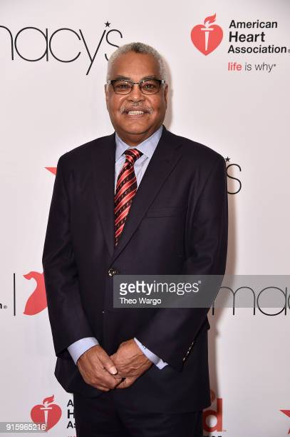 Chairman Elect at the American Heart Association Bert Scott attends the American Heart Association's Go Red For Women Red Dress Collection 2018...