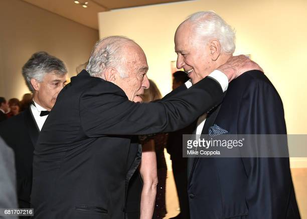Chairman emeritus of The Estee Lauder Companies Inc., Leonard Lauder and Ronald Lauder attend the Alzheimer's Drug Discovery Foundation 11th Annual...