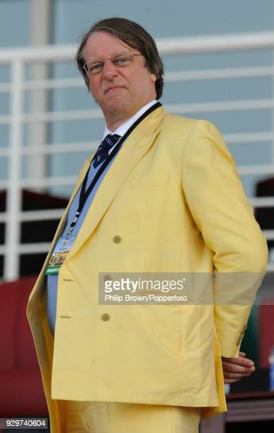ECB chairman Giles Clarke during the 2nd Test match between Pakistan and England at the Sheikh Zayed Stadium Abu Dhabi 27th January 2012