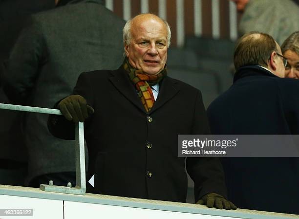 Chairman Greg Dyke looks on prior to the Women's Friendly International match between England and USA at Stadium mk on February 13 2015 in Milton...