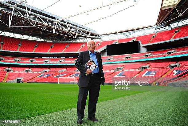 Chairman Greg Dyke poses for photographs during the FA Chairman's England Commission Press Conference at Wembley Stadium on May 8 2014 in London...