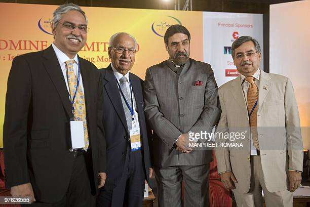 Chairman Hero Corporate Services Limited Sunil Kant Munjal, Chairman Hero Group Brijmohan Lall Munjal, Indian Minister for Commerce and Industry...