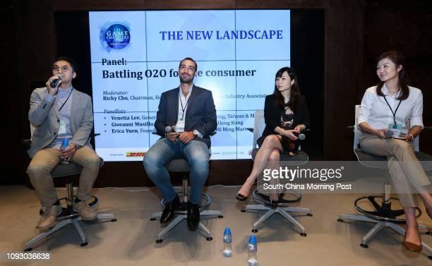 Chairman, Hong Kong Retail Technology Industry Association, Ricky Chu; General Manager, Zalora Hong Kong, Giovanni Musillo; General Manager, Alipay...