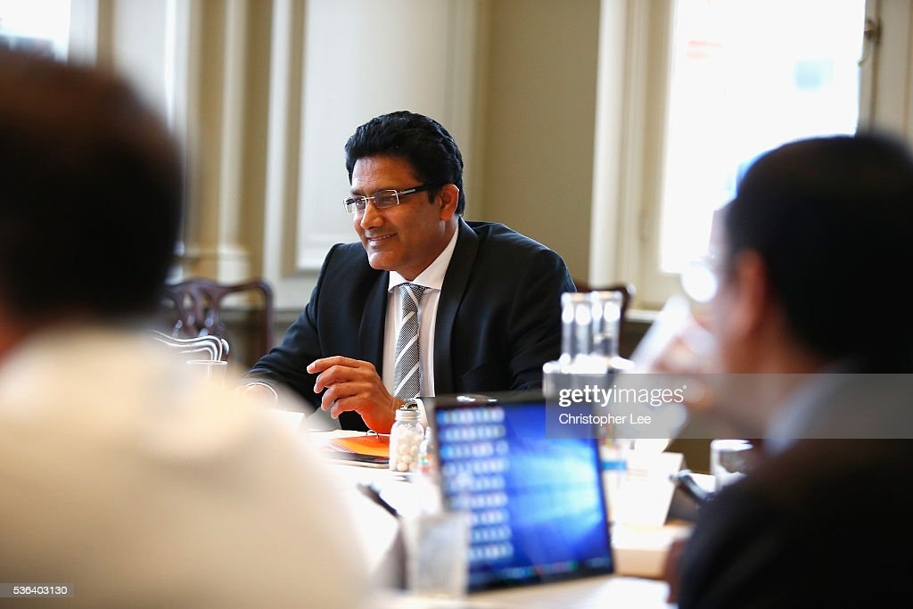 ICC Cricket Committee Meeting : News Photo