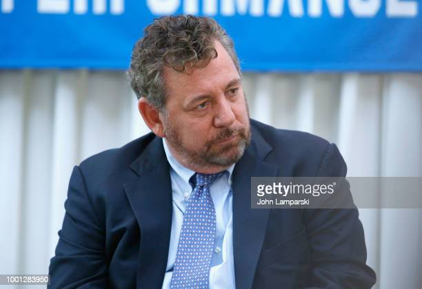 CEO Chairman James Dolan attends as Madison Square Garden celebrates Billy Joel's 100th lifetime show at Madison Square Garden on July 18 2018 in New...
