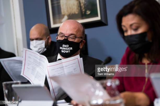 Chairman Jim McGovern, D-Mass., and Rep. Norma Torres, D-Calif., conduct a House Rules Committee markup on amendments including raising the debt...
