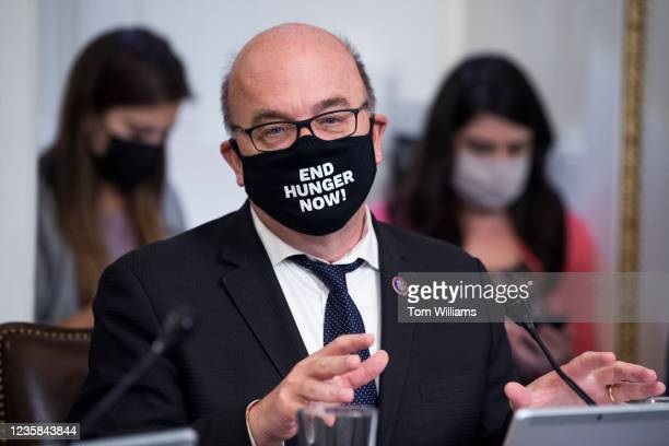 Chairman Jim McGovern, D-Mass., conducts a House Rules Committee markup on amendments including raising the debt limit in the U.S. Capitol on...