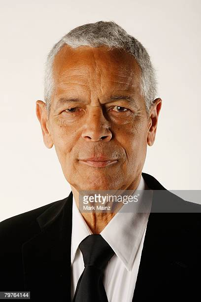 Chairman Julian Bond poses for a portrait at the 39th NAACP Image Awards held at the Shrine Auditorium on February 14, 2008 in Los Angeles,...