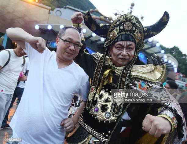 Chairman Leo Kung Lincheng dresses up for a Halloween event at ocean Park Hong Kong 20SEP16 SCMP / David Wong
