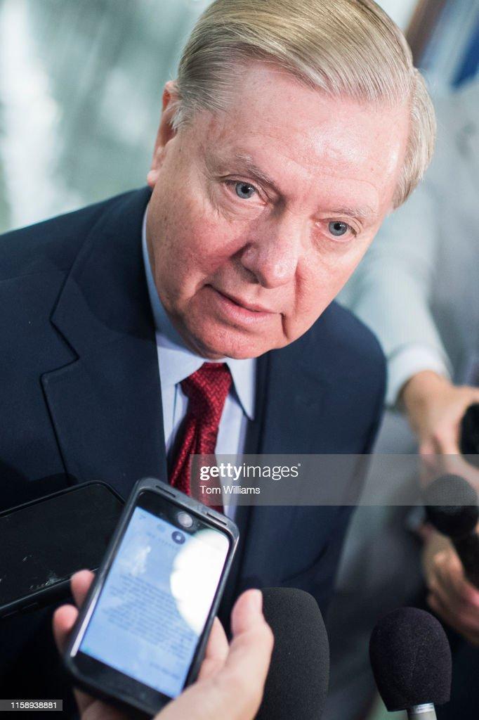 Senate Judiciary Committee : News Photo