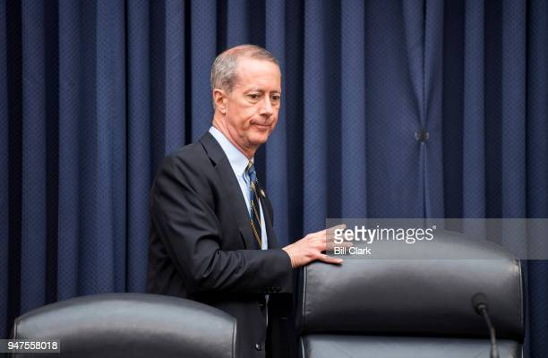 """Chairman Mac Thornberry, R-Texas, takes his seat for the House Armed Services Committee hearing on """"Promoting DOD's Culture of Innovation"""" on..."""