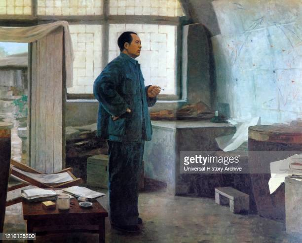 Chairman Mao is at Yenan. . Mao Zedong , was a Chinese communist revolutionary who became the founding father of the People's Republic of China ,...