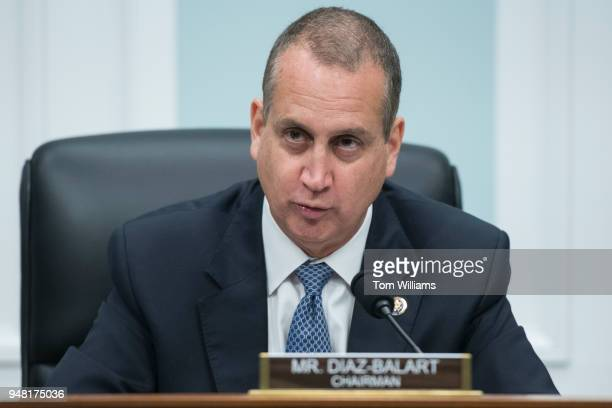 Chairman Mario DiazBalart RFla conducts a House Appropriations Transportation Housing and Urban Development and Related Agencies Subcommittee hearing...