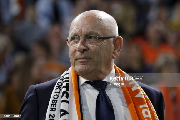 Chairman Michael van Praag during the UEFA Nations League A group 1 qualifying match between The Netherlands and Germany at the Johan Cruijff Arena...