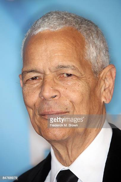 Chairman, NAACP National Board of Directors Julian Bond arrives at the 40th NAACP Image Awards held at the Shrine Auditorium on February 12, 2009 in...
