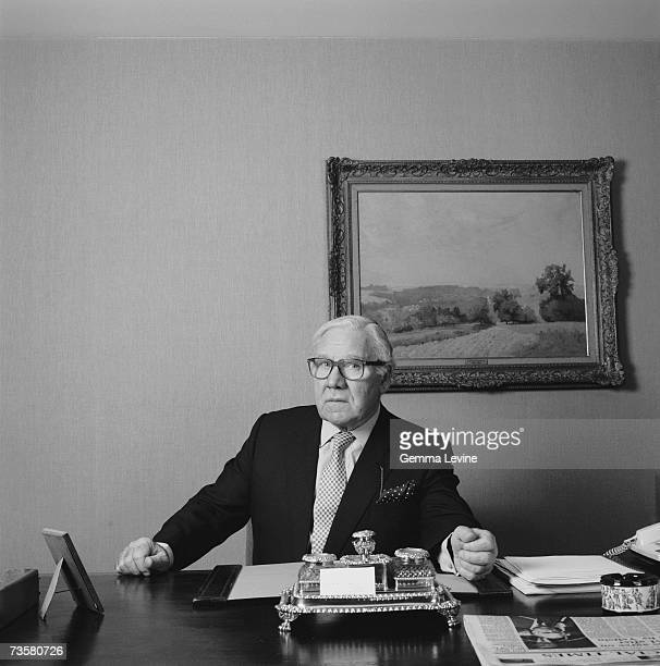 Chairman of British Airways John King Baron King of Wartnaby circa 1990