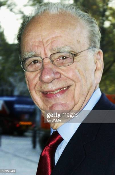 Chairman of British Sky Broadcasting Group Rupert Murdoch arrives of the company's Annual General Meeting November 14, 2003 in London. Shareholders...