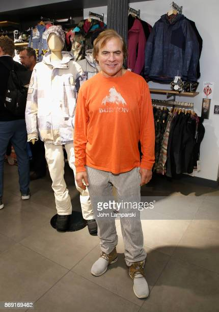 Chairman of Burton Snowboards Jake Carpenter attends 2018 Olympic US Snowboard Team Uniform Unveil on November 1 2017 in New York City