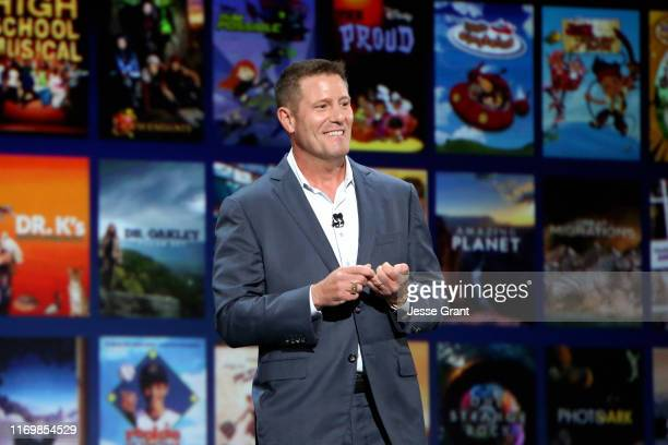 Chairman of Direct-to-Consumer & International division of The Walt Disney Company Kevin Mayer took part today in the Disney+ Showcase at Disney's...