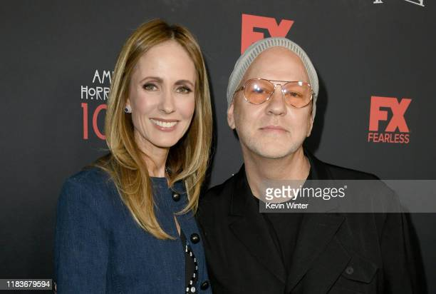 Chairman of Disney Television Studios and ABC Entertainment Dana Walden and Ryan Murphy attend FX's American Horror Story 100th Episode Celebration...