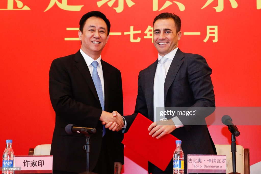 Fabio Cannavaro Returns As Guangzhou Evergrande Head Coach
