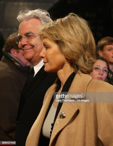 Chairman of Everton Football Club Bill Kenwright arrives with his partner Jenny Seagrove The Lowry Theatre in Salford for the Royal Variety...