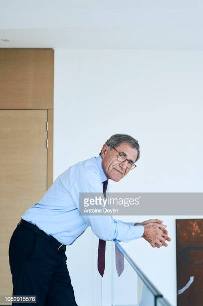 Chairman of french company Engie Gerard Mestrallet is photographed for Self Assignment on May 2018 in Paris France