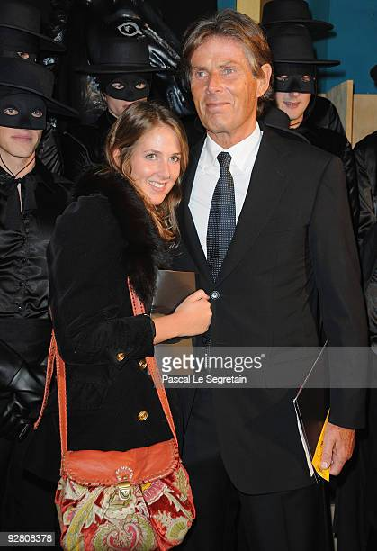 "Chairman of Lucien Barriere group Dominique Desseigne and daughter Joy attend the ""Zoro"" Gala Premiere at Folies Bergeres on November 5, 2009 in..."