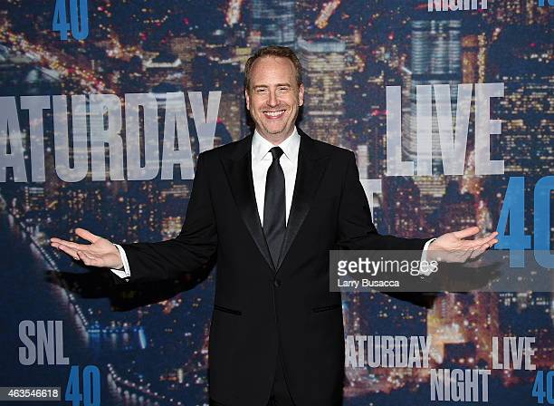 Chairman of NBC Entertainment Robert Greenblatt attends SNL 40th Anniversary Celebration at Rockefeller Plaza on February 15 2015 in New York City