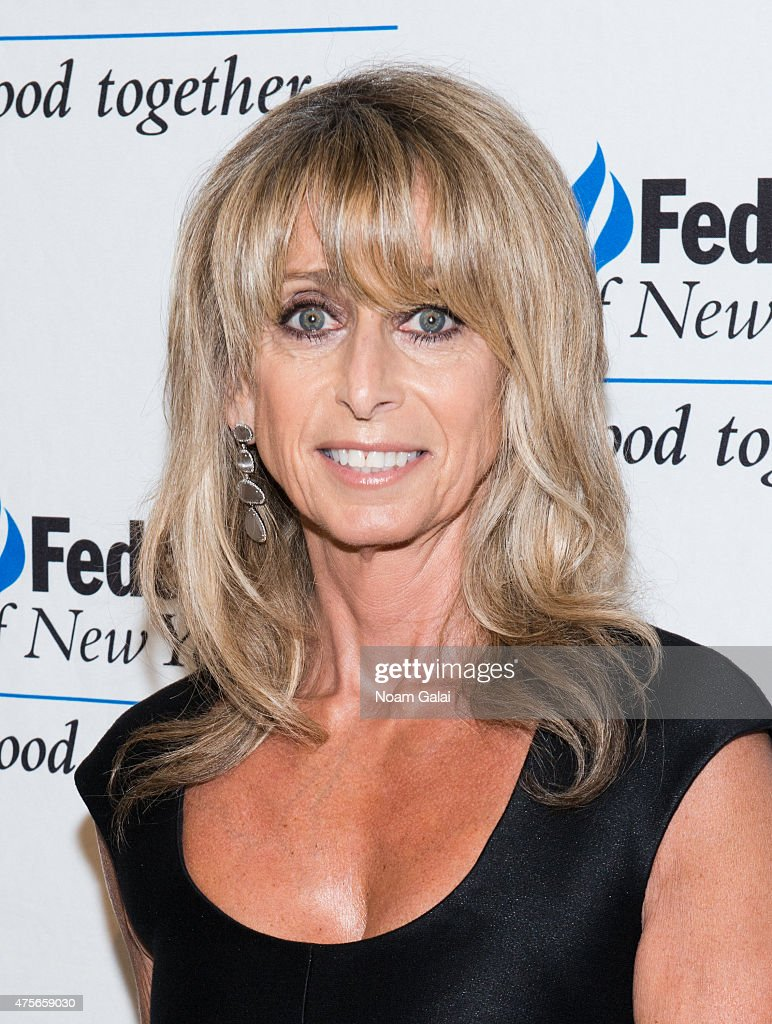 Chairman of NBCUniversal Cable Bonnie Hammer attends the UJA-Federation New York's Entertainment Division Signature Gala at 583 Park Avenue on June 2, 2015 in New York City.