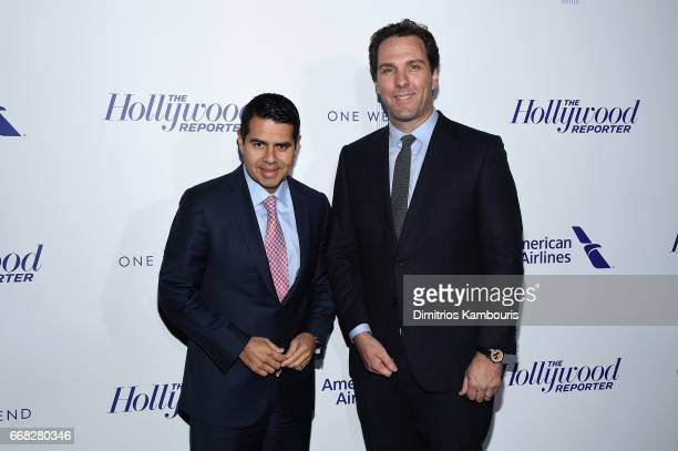Chairman of NBCUniversal International Group and NBCUniversal Telemundo Enterprises Cesar Conde and Executive Editor at The Hollywood Reporter Matt...