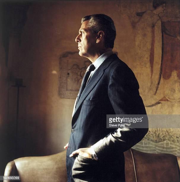 Chairman of Pirelli Marco Tronchetti Provera poses for a portrait shoot in London, UK.