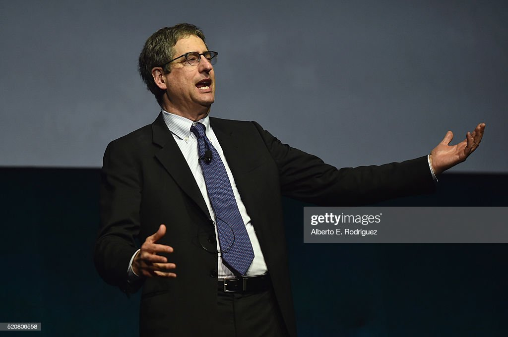 Chairman of Sony Picture Entertainment Motion Pictures Group Tom Rothman speaks onstage during CinemaCon 2016 An Evening with Sony Pictures Entertainment: Celebrating the Summer of 2016 and Beyond at The Colosseum at Caesars Palace during CinemaCon, the official convention of the National Association of Theatre Owners, on April 12, 2016 in Las Vegas, Nevada.