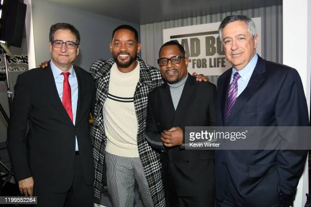 Chairman of Sony Pictures Entertainment's Motion Picture Group Thomas Rothman, Will Smith, Martin Lawrence, and CEO of Sony Pictures Entertainment...