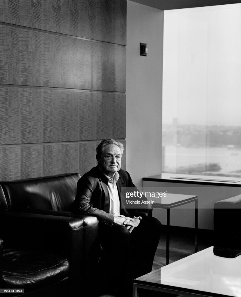George Soros, Portrait Session, 2003