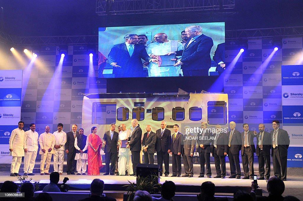 Chairman of Tata Sons Ratan Naval Tata, : News Photo