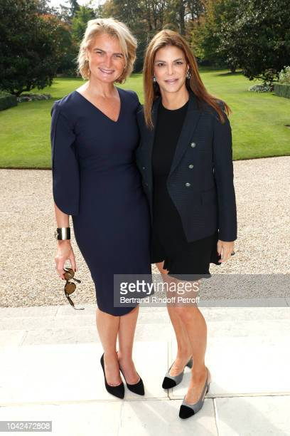 Chairman of the American Friends of the Paris Opera and Ballet Ms Olivia Flatto and Owner of the Lowell hotel in New York City Dina de Luca Chartouni...