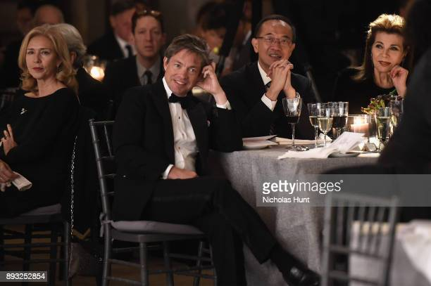 Chairman of the Berggruen Institute Nicolas Berggruen attends the Berggruen Prize Gala at the New York Public Library on December 14 2017 in New York...