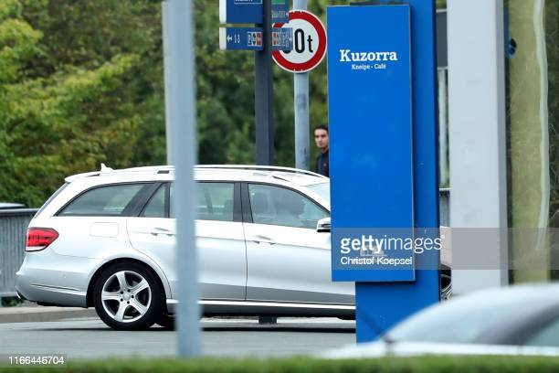 Chairman Of The Board Clemens Toennies on the way to the Veltins Arena on August 06, 2019 in Gelsenkirchen, Germany.