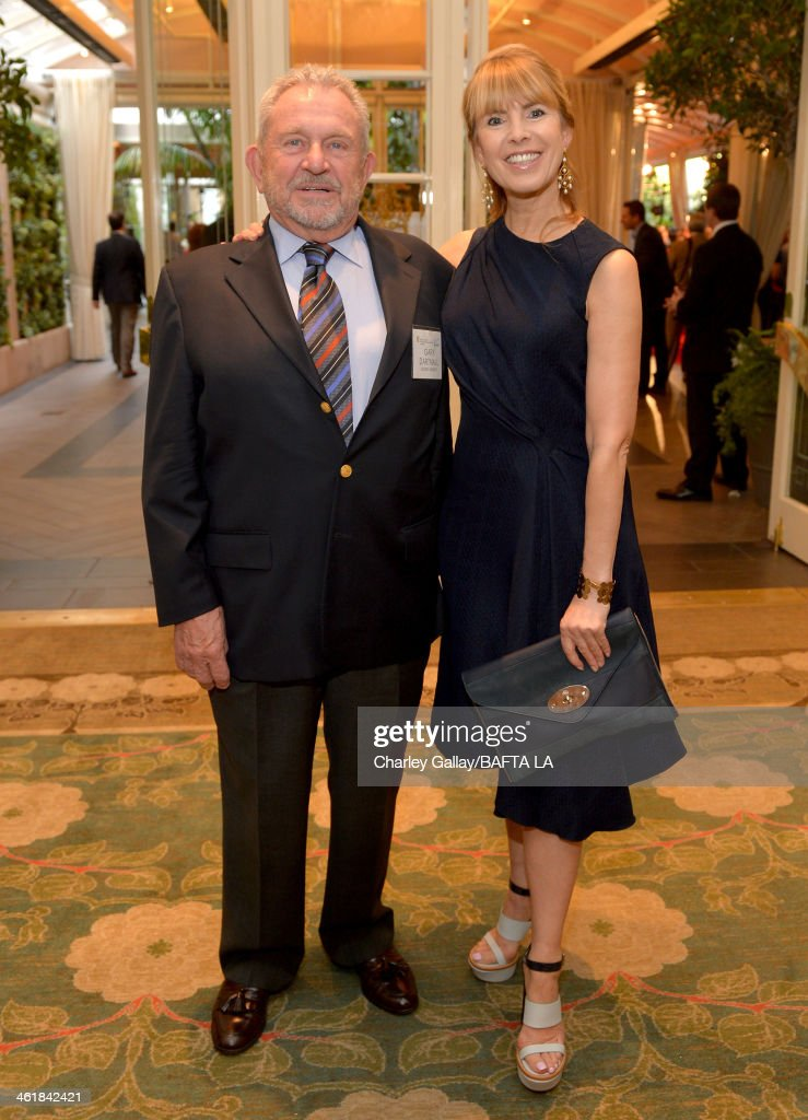 Chairman of the Board Gary Dartnall and BAFTA board memeber Julia Verdin attend the BAFTA LA 2014 Awards Season Tea Party at the Four Seasons Hotel Los Angeles at Beverly Hills on January 11, 2014 in Beverly Hills, California.
