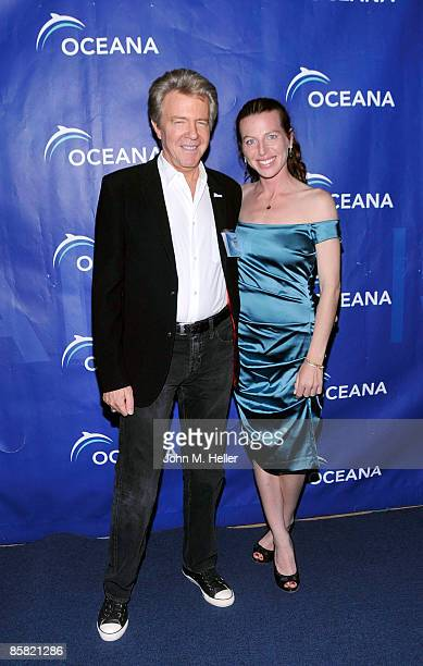 Chairman of the Board Oceana Keith Addis and actor Tanna Frederick attend the 2009 Project Save Our Surf 1st Annual Surfathon and Oceana Awards at...