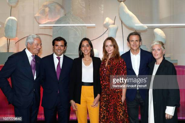 Chairman of the Board of Galeries Lafayette Group Philippe Houze General Director of Galeries Lafayette Nicolas Houze Secretary of State to the...