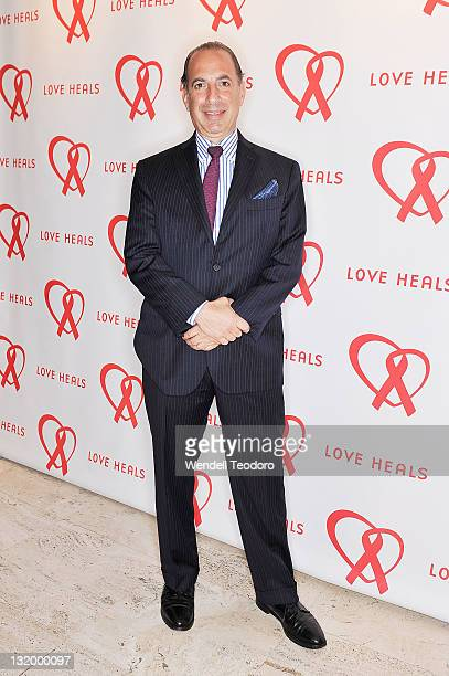 Chairman of the board of Love Heals Robert Tucker attends Love Heals The Alison Gertz Foundation For AIDS Education 20th Anniversary gala at the Four...