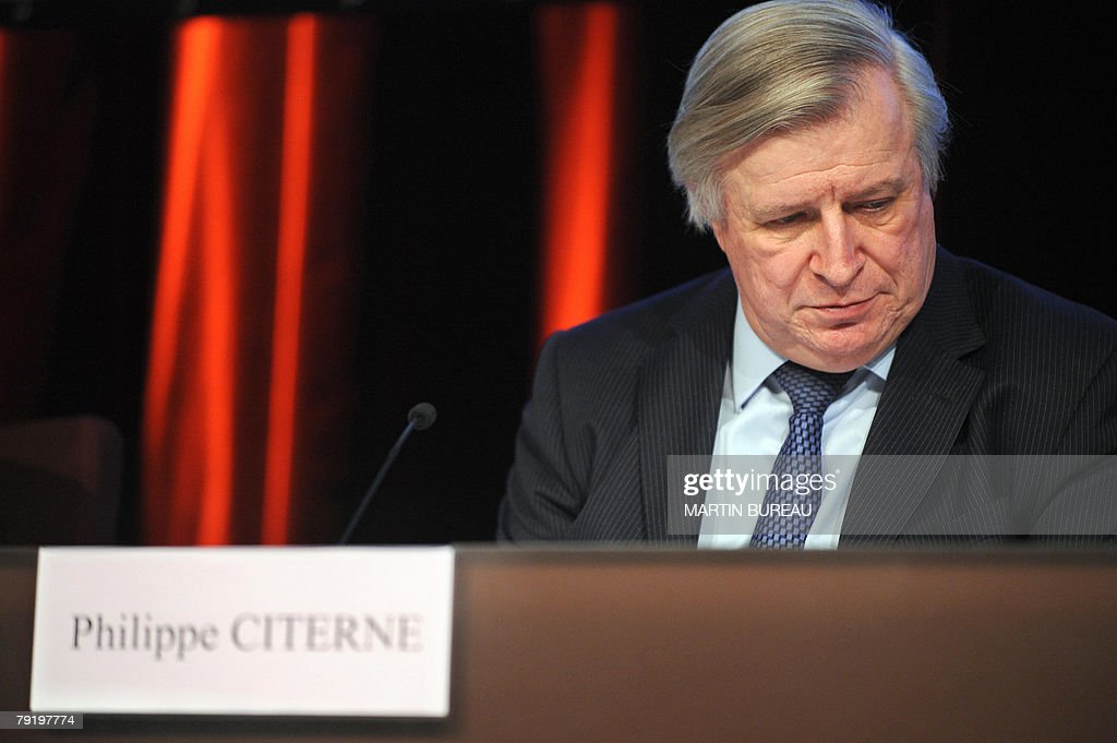 Chairman of the French banking group Soc