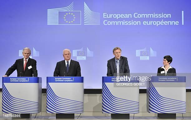 Chairman of the Grantham Foundation Jeremy Grantham, Former Irish Prime Minister John Bruton, EU Commissioner for Environment Janez Potocnik, and...