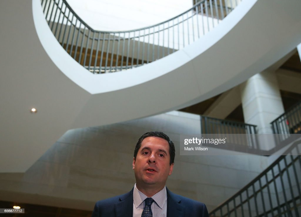 House Intelligence Committee Holds Closed Hearing On Russia Investigation : News Photo