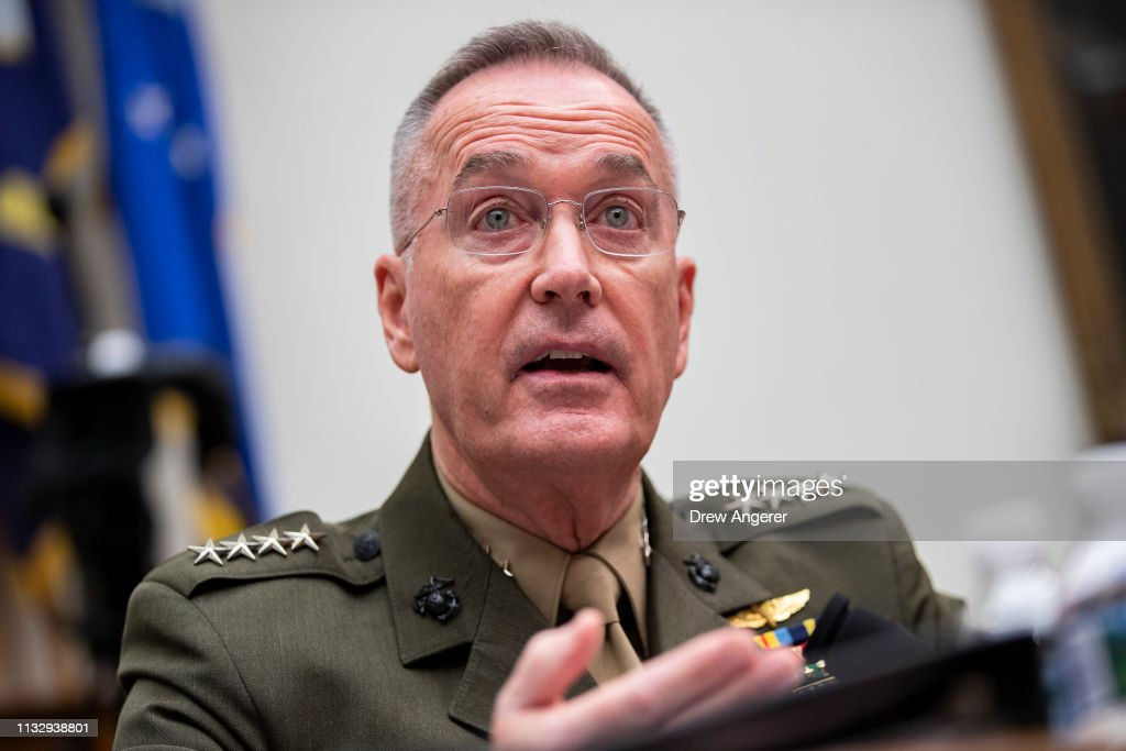 DC: Acting Defense Secretary Shanahan And Joint Chiefs Of Staff Chairman Dunford Testify Before The House Armed Services Committee
